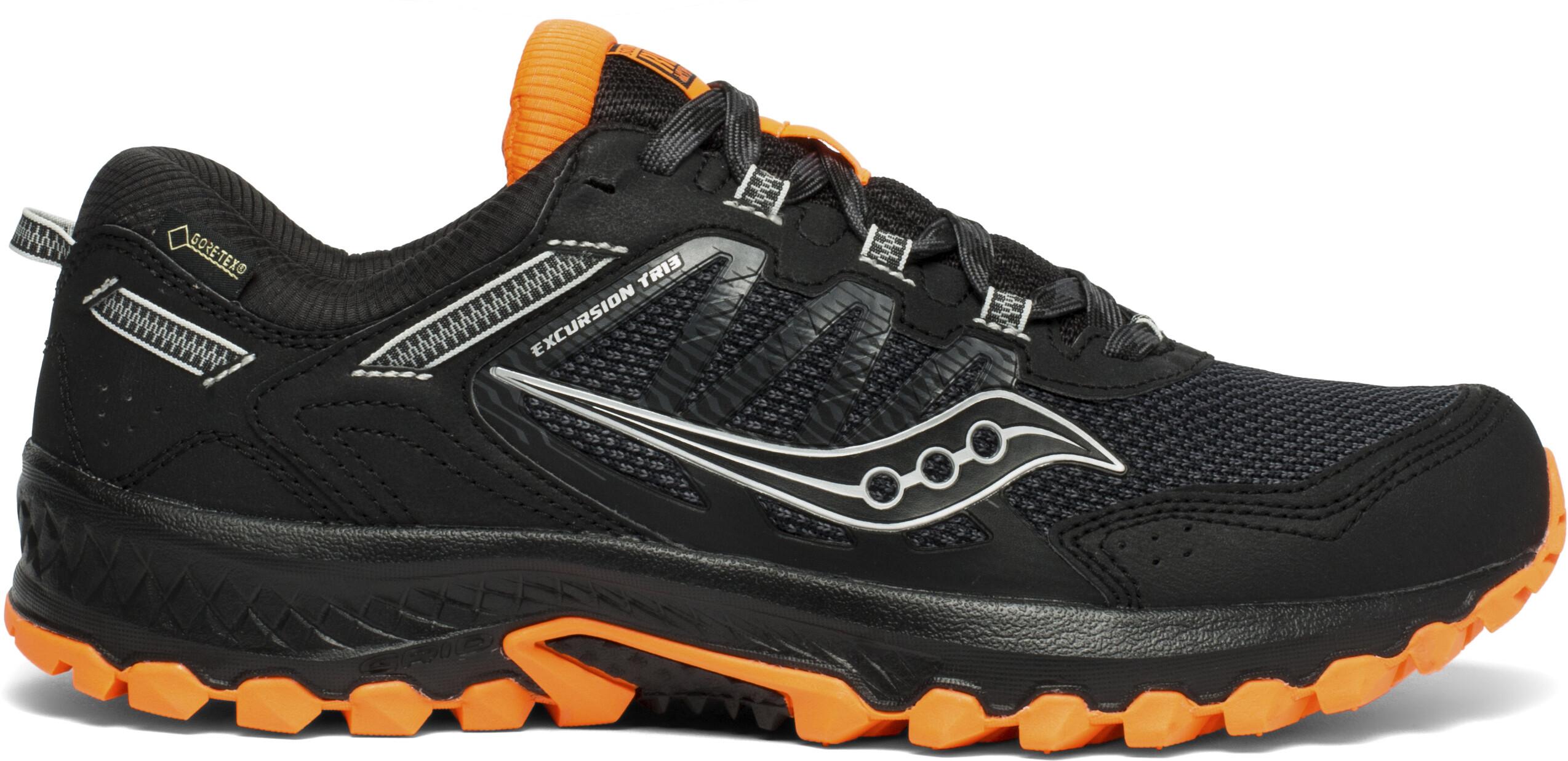912290190346c saucony Versafoam Excursion TR13 GTX Shoes Women black/orange